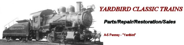 Parts for Varney, Mantua, Tyco, John English and More