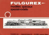 Fulgurex O - Scale Catalog 1976