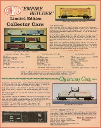 JMC Empire Builder Series Freight Cars